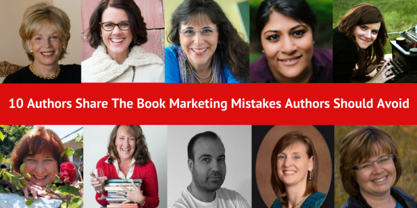 book marketing mistakes