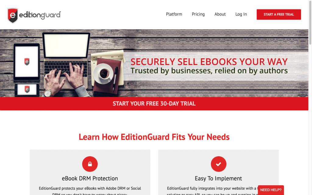 Editionguard DRM