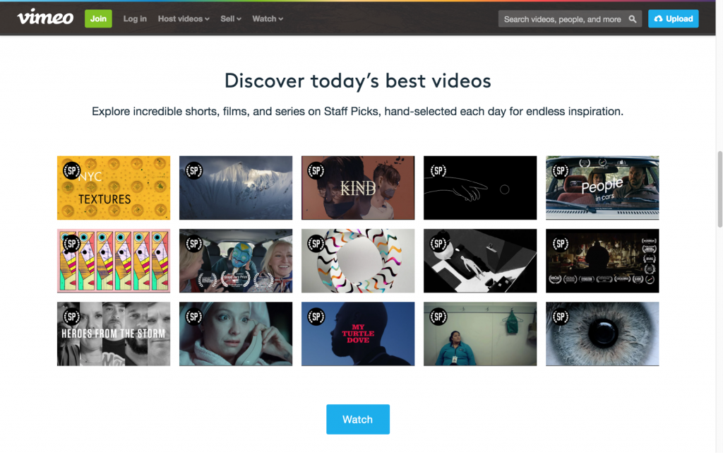 Vimeo for Writers