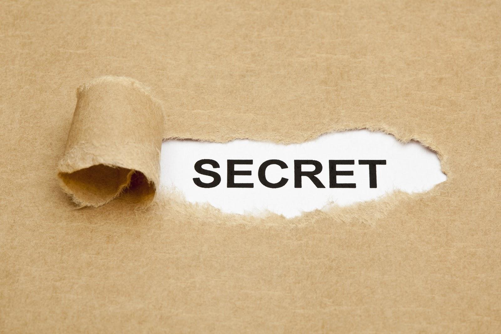 Secret AdobeStock 54511984